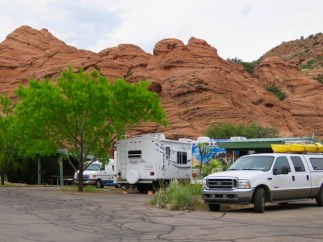 Close Quarters In The Campground