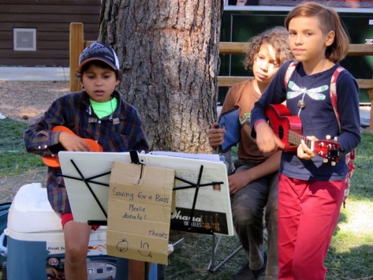 Young Musicians At The Festival