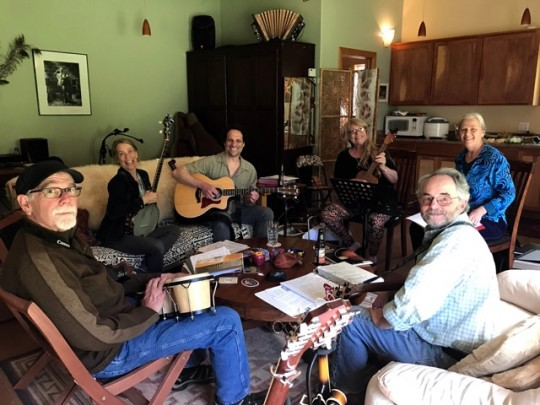 Sunday Music: Lydia, Joe, Cynthia, Karen, And Kyle
