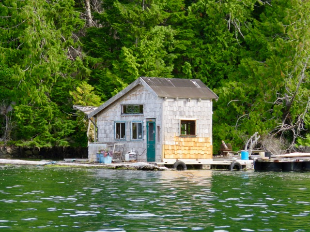 One of many float homes