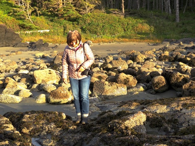 Late afternoon exploring the tide pools