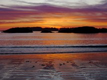 The sunsets are legendary in Tofino