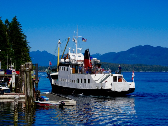 Mailboat cruise from Port Alberni
