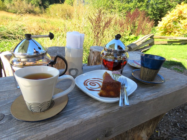Tea at Westholme Tea Gardens