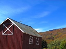 Barn near Park City, Utah