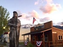 Chief Joseph Bronze, Joseph, Oregon
