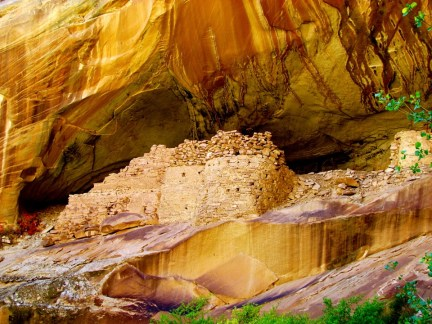 Monarch Cave Ruins, Cedar Mesa, Utah