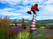Sculpture Garden, Hood River, Oregon