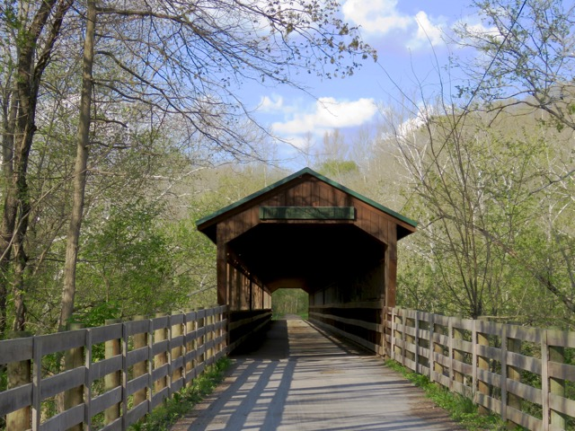An Ohio covered bridge