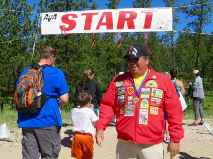 The Volksmarch at Crazy Horse Memorial