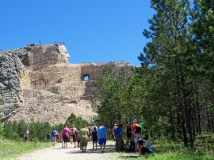 Hiking to Crazy Horse