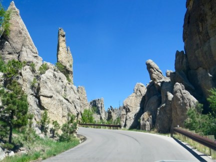 Pinnacles on The Needles Highway