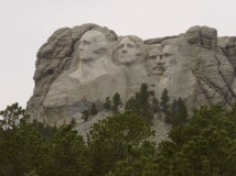 Mount Rushmore (of course)