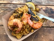 Paella at the Farmers Market