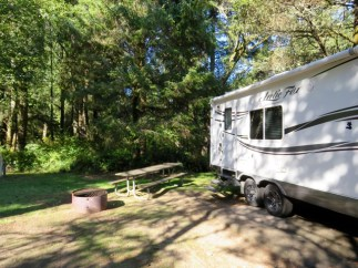 Fort Stevens State Park campground