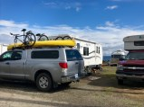 Close quarters at the marina campground Port Townsend