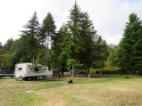 Dosewallips State Park campground