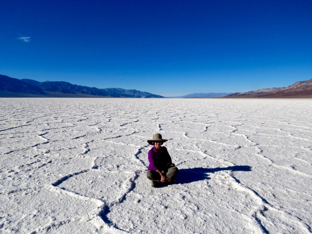 The salt flats are surreal and beautiful