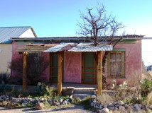 Marfa adobe home