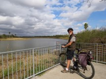 Biking at Bentsen-Rio Grande State Park