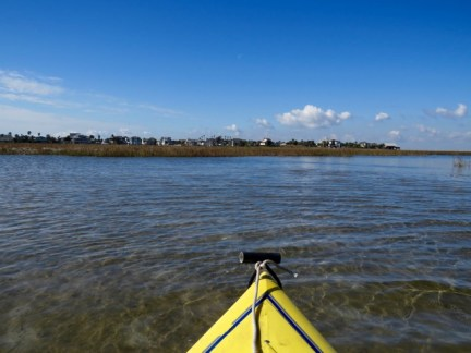 Kayak Trail at Galveston Island State Park
