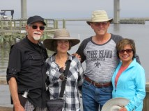 Wandering Apalachicola with Steve and MonaLiza