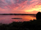 Sunset at Cedar Key, Florida