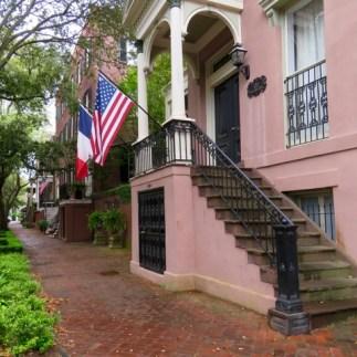 Historic Savannah homes