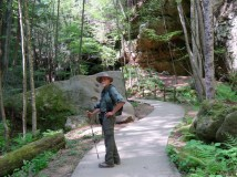 The Gorge Trail in Conklin Hollow