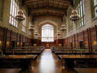 Hogwart's Great Hall (also known as the law library)