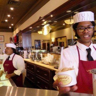 Leopold's famous ice cream (good, but the west coast has better)