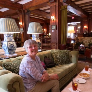 Afternoon iced tea at The Willcox Hotel