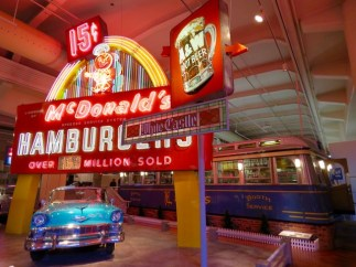 Fast food and cool cars, the American dream