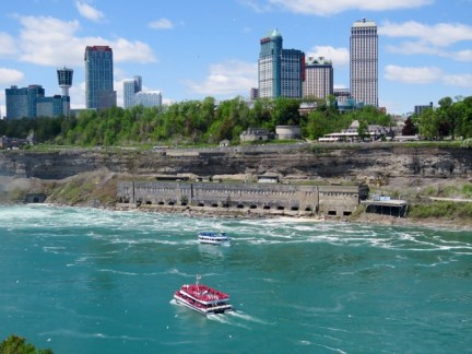 Niagara Falls, view of the Canadian side