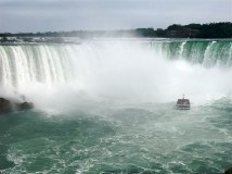 Into Horseshoe Falls