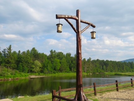 Ausable River kayak launch, walking distance to the RV Park