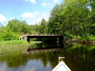 Kayaking the Raquette River to Stony Creek Ponds