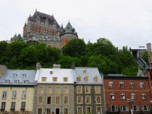 First views of Old Québec City