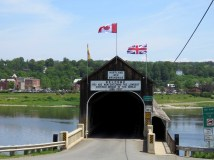 Hartland Bridge, the longest covered bridge in the world