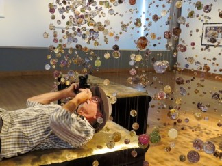 A mesmerizing exhibit at the art gallery in Confederation Centre of the Arts