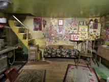 A peek inside the cottage of Maud Lewis