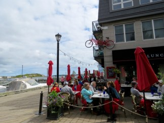 The Bicycle Thief, an excellent restaurant on the waterfront