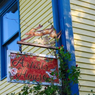 Annapolis Royal is home to many art galleries