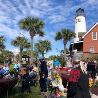 At the Forgotten Coast Plein Air Art Festival