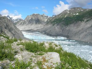 McBride Glacier is rapidly melting, Glacier Bay National Park and Preserve, Alaska