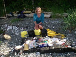 Happy resupply in Shearwater, glorious mid-coast BC