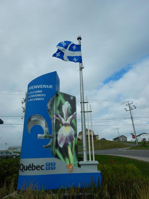 Je t'aime (I love you) Quebec!