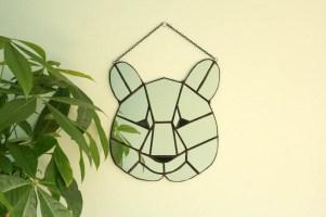 (Sold: London, UK) Geometric Bear mirror