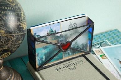 (Sold: Florida, USA) Storage Postcard Box