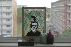 (Sold: Tennessee, USA) Edgar Allan Poe Panel